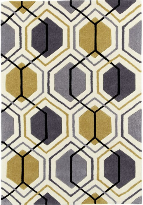 Hong Kong 7526 Grey.Yellow _2 Rug