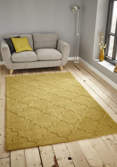 Hong Kong 8583 Yellow _9 Rug