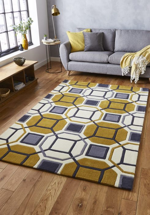 Hong Kong 9238 Ivory.Yellow _9 Rug