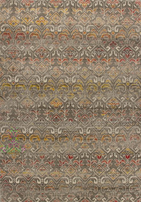 Jasmine Rug by Oriental Weavers in 1330Y Design has high shine glossy pile and contemporary design