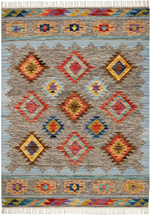 Kasa Rug by Oriental Weavers in Serena Design; made in warm natural tones and are great for casual and formal rooms