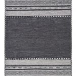 Kelim Rug by Oriental Weavers in Charcoal Colour; made in warm natural tones and is great for casual and formal rooms