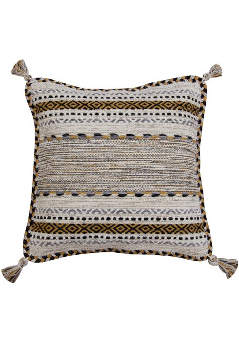 Kelim Ochre Cushion