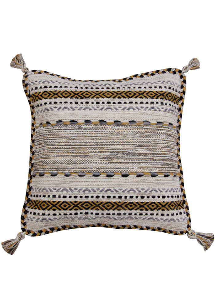 Kelim Ochre Cushion