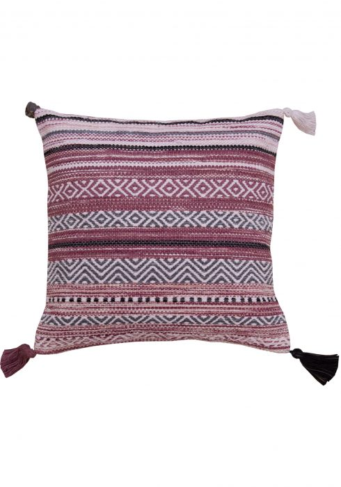 Kelim Stripe Pink Cushion
