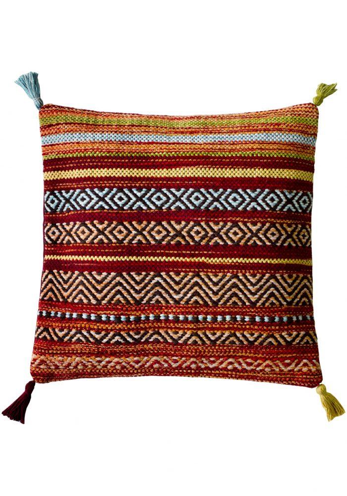 Kelim Stripe Red Cushion (2)