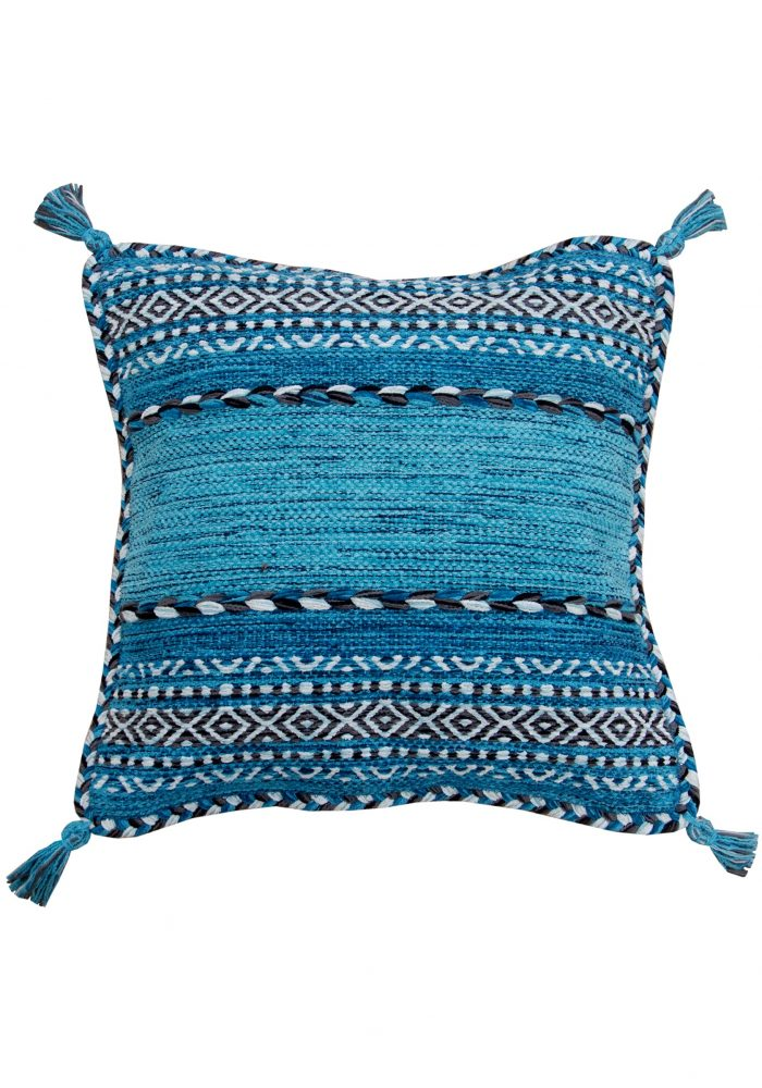 Kelim Teal Cushion