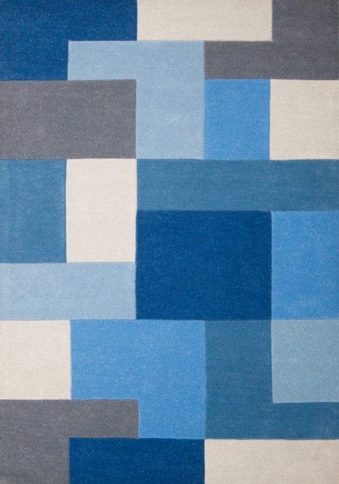 Lexus blue rug overhead