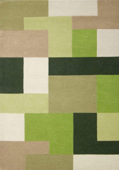 Lexus green_overhead rug