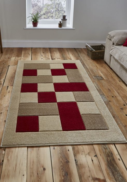 Matrix MT04 Beige.Red Rug Index