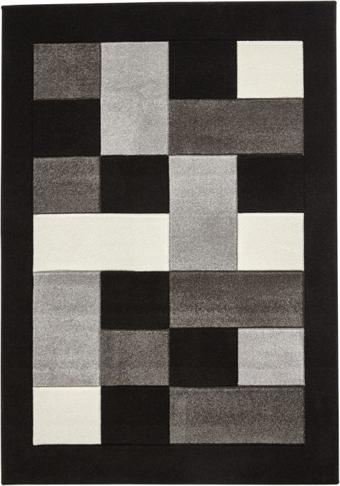 Matrix MT04 Black Grey Rug
