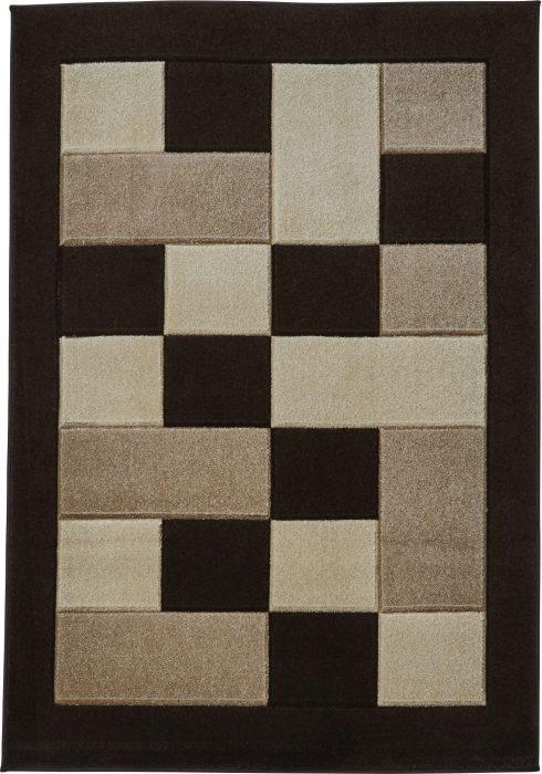 Matrix MT04 Brown Beige Rug