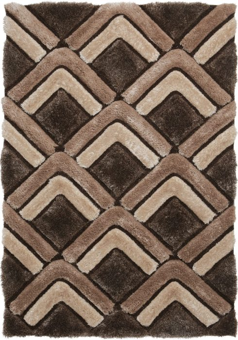Noble House NH8199 Brown Rug