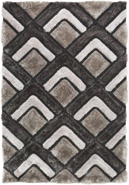 Noble House NH8199 Silver Rug