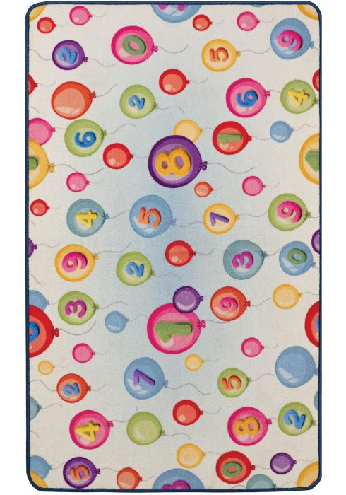 Playtime ABC & Balloons Backside-2 Rug