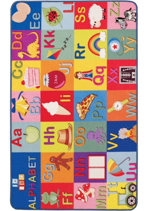 Playtime ABC & Balloons Frontside Rug
