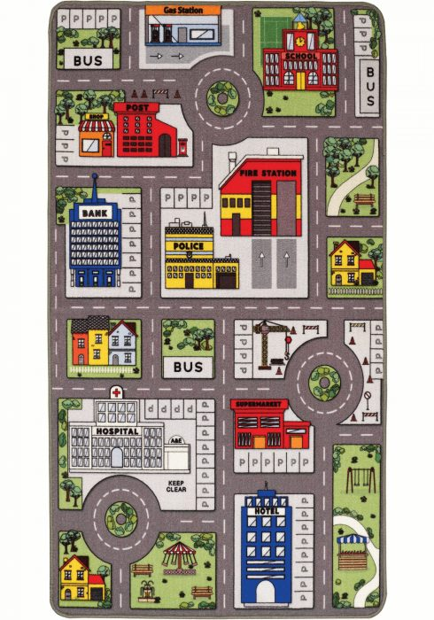 Playtime City & Farm Backside Rug