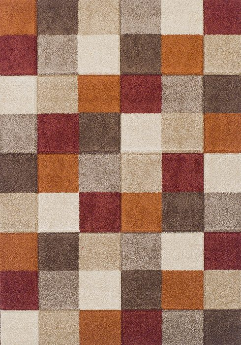 Portland Rug by Oriental Weavers in 1923X Design; machine woven with a hardwearing frisee pile