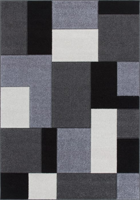 Portland Rug by Oriental Weavers in 8425B Design; machine woven with a hardwearing frisee pile