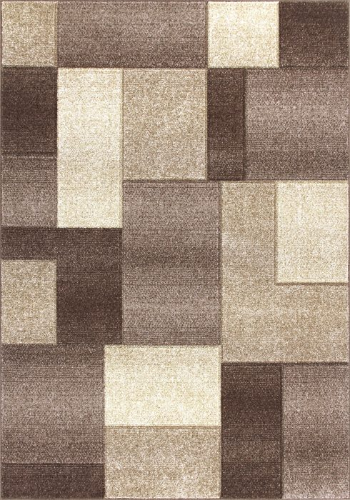 Portland Rug by Oriental Weavers in 8425D Design is machine woven with a hardwearing frisee pile