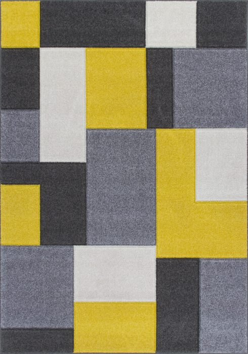 Portland Rug by Oriental Weavers in 8425I Design is machine woven with a hardwearing frisee pile