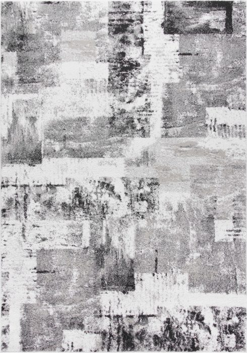 Sansa Rug by Oriental Weavers in 5501H Design; soft to touch and machine-woven using a high frise pile