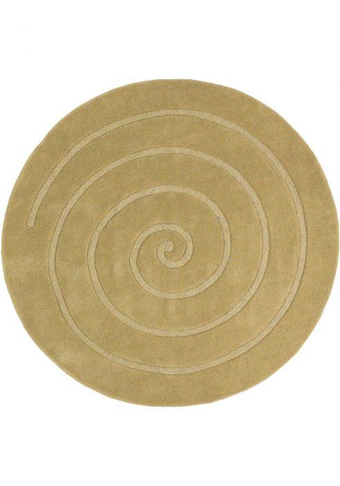 Spiral Gold Rug