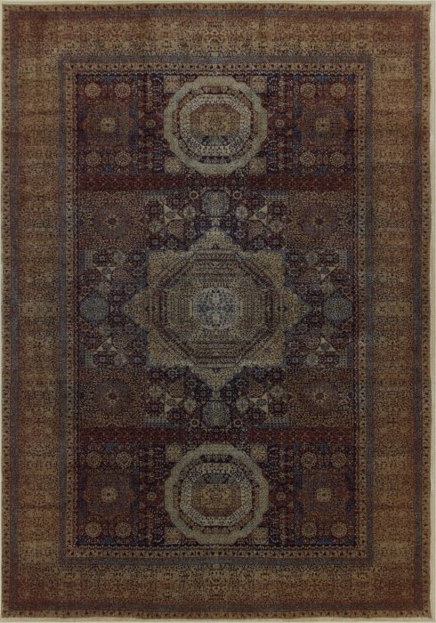 Tabriz Rug by Oriental Weavers in 35X Design; has a traditional design, reminiscent of classic Persian and Oriental designs