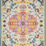 Bronte Rug by Asiatic Carpets in Multi Colour has a traditional design – a modern take on classic designs in updated tones