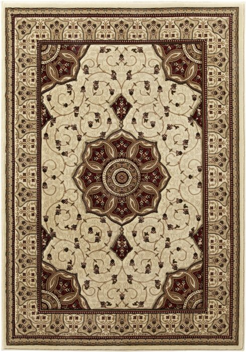 Heritage 4400 Cream.Red _2 Rug