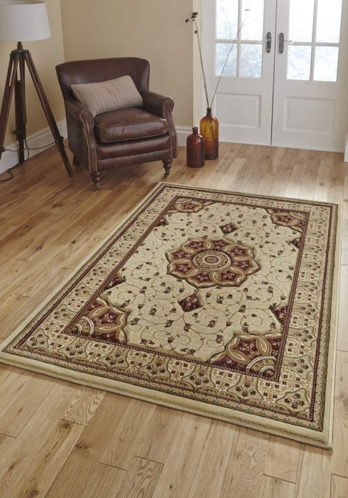Heritage 4400 Cream.Red _9 Rug