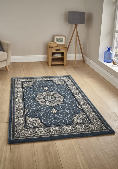 Heritage 4400 Dark Blue _9 Rug