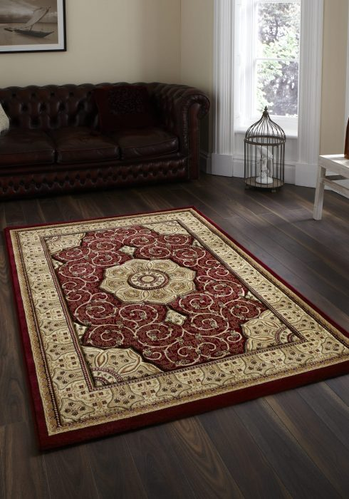 Heritage 4400 Red _9 Rug