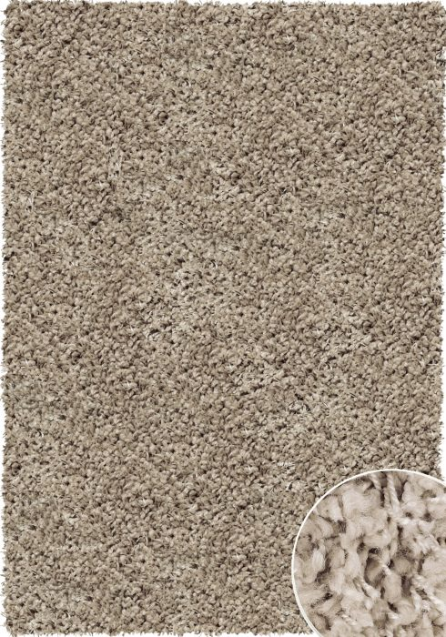 Twilight Rug by Mastercraft Rugs in 39001-6611 Linen Design has a superbly finished woven shaggy with a thick luxurious pile