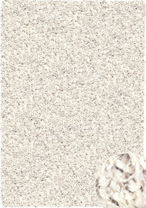 Twilight Rug by Mastercraft Rugs in 39001-6926 Light Cream Design has a superbly finished woven shaggy with a thick pile