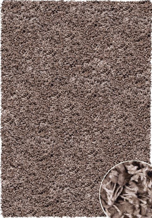 Twilight Rug by Mastercraft Rugs in 39001-7676 Mink Design has a superbly finished woven shaggy with a thick luxurious pile