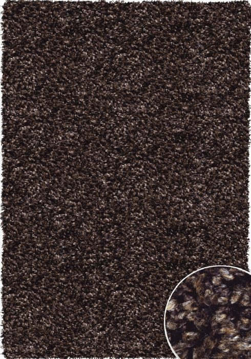 Twilight Rug by Mastercraft Rugs in 39001-7722 Brown/Bronze Design has a superbly finished woven shaggy with a thick pile