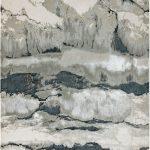 Aurora Rug by Asiatic Carpets in AU05 Quartz Design; abstract & geometric metallic, and lustrous in design