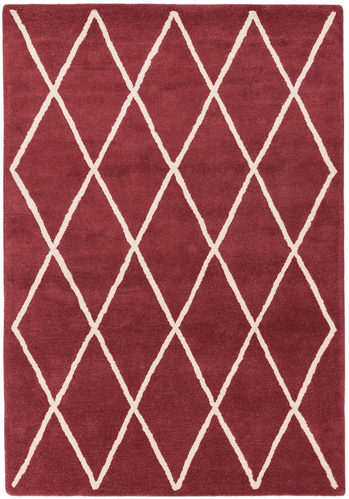 Albany Rug by Asiatic Carpets in Diamond Berry Design; an eye-catching, decorative geometric rug made from 100% wool