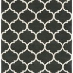 Albany Rug by Asiatic Carpets in Ogee Charcoal Design; an eye-catching, decorative geometric rug; made from 100% wool