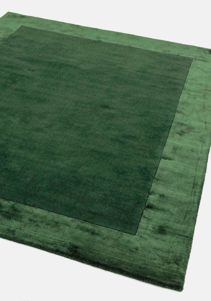 Ascot Green Rug Closeup 3