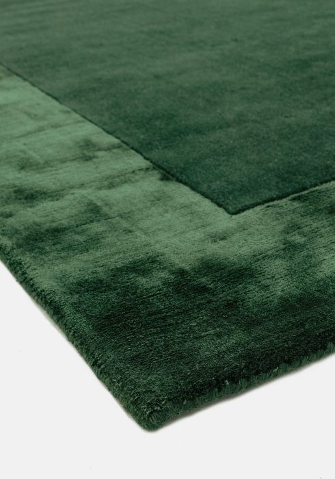 Ascot Green Rug Closeup 2