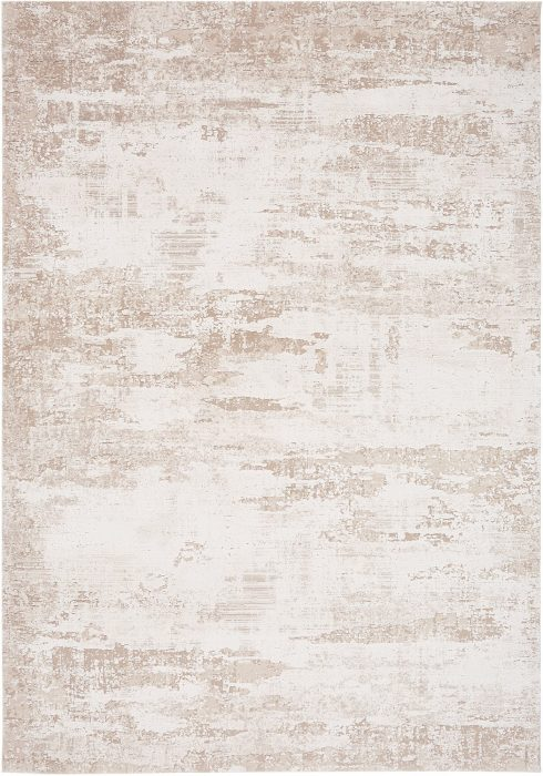 Astral Rug by Asiatic Carpets in AS01 Beige Design; sure to stand out with its distressed abstract design and subtle texture