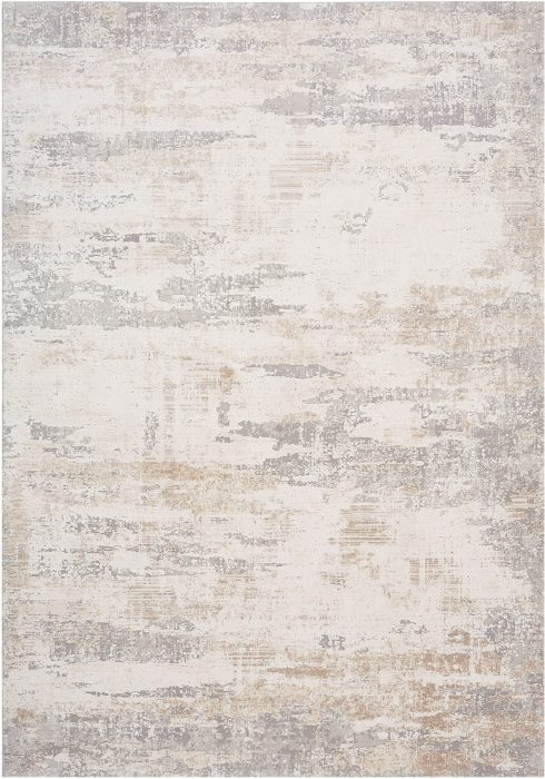 Astral Rug by Asiatic Carpets in AS03 Pearl Design; sure to stand out with its distressed abstract design and subtle texture