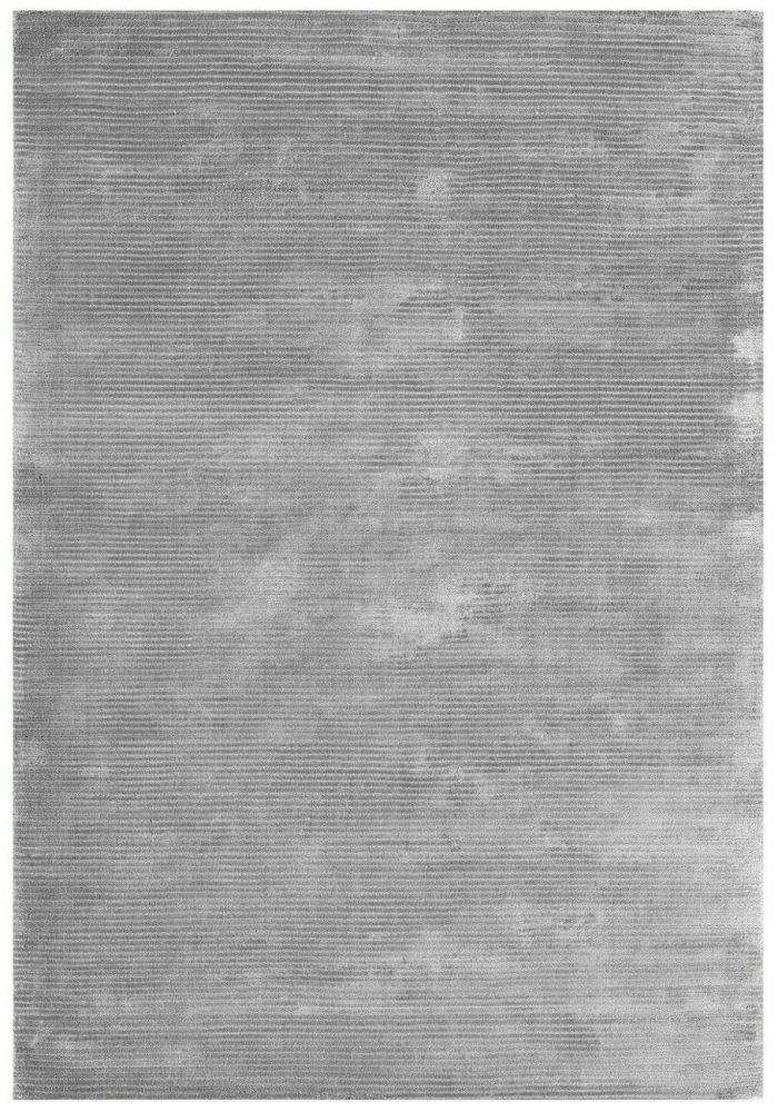 Bellagio Rug by Asiatic Carpets in Silver Colour; designed using cut & loop weaving techniques