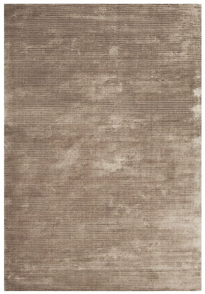 Bellagio Rug by Asiatic Carpets in Taupe Colour; designed using cut & loop weaving techniques