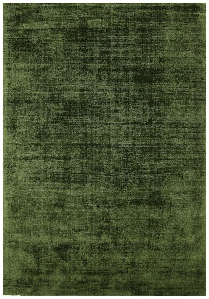 The Blade Rug by Asiatic Carpets in Green Colour; hand sheared by artisans to create a distressed lustrous look