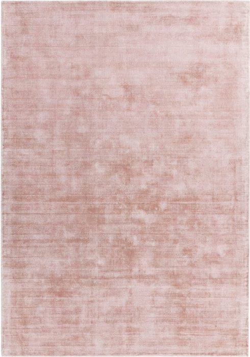 Blade Rug by Asiatic Carpets in Pink Colour; hand sheared by artisans to create a distressed lustrous look