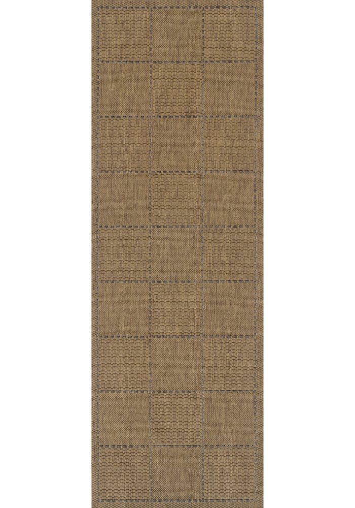 Checked-Flatweave-Natural-Runner