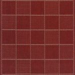 Checked Flatweave Rug by Oriental Weavers in Red Colour; inspired by the traditional sisal rug & has an anti-slip gel backing
